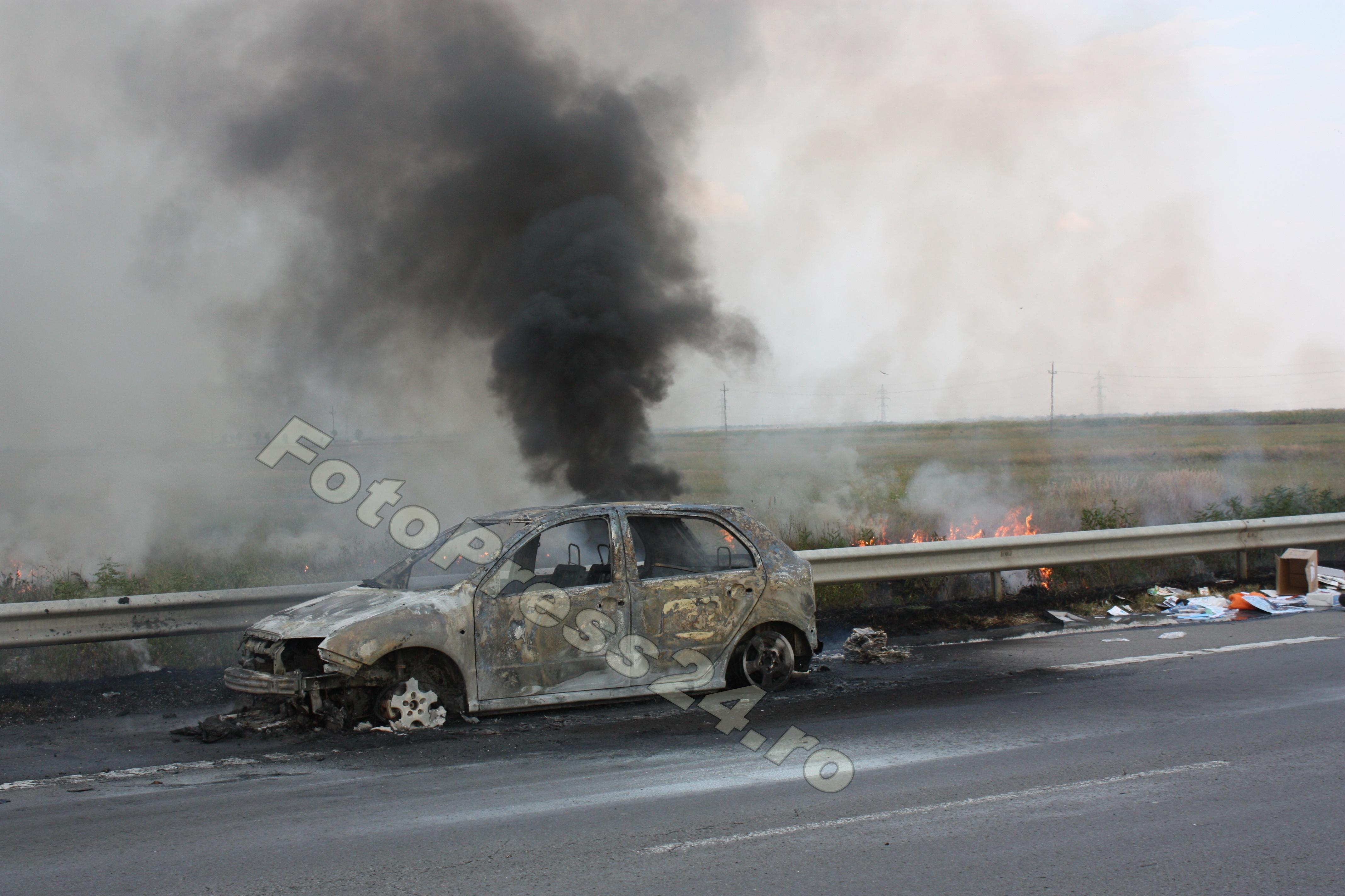 incendiu auto A1 (16)