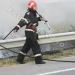 incendiu auto A1 (4)