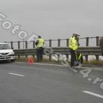 ACCIDENT CU MASINA POLITIEI KM 106 A1 PASARELA CAREFOUR (1)