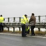 ACCIDENT CU MASINA POLITIEI KM 106 A1 PASARELA CAREFOUR (21)