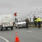 ACCIDENT CU MASINA POLITIEI KM 106 A1 PASARELA CAREFOUR (7)