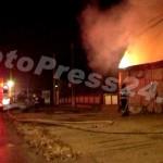 incendiu garaj bascov