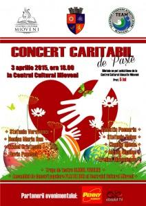 concert caritabil 3 aprilie