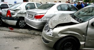 accident cu cinci masini Pitesti-fotopress24 (5)