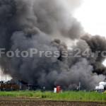 incendiu Drumul 23 în spatele Arpechim-FotoPress24 (2)