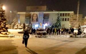 A 10 a  zi de proteste la Pitesti-fotopress-24ro