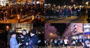 Protest a5a zi Pitesti-fotopress-24ro