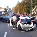 Accident o victima Calea Bucuresti (1)