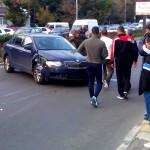 Accident o victima Calea Bucuresti (2)