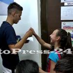 """Micuţii i-au provocat pe fotbalişti la un """"amical"""" în curtea şcolii - fc arges - fotopress-24 (2)"""