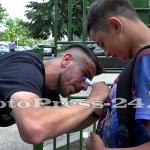 """Micuţii i-au provocat pe fotbalişti la un """"amical"""" în curtea şcolii - fc arges - fotopress-24 (6)"""