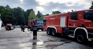 incendiu Spitalul de Pneumoftizioligie Valea Iaşului (2)