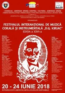 Afis Festival DG Kiriac 2018