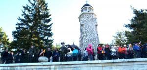 Flacara Centenarului a fost aprinsa la Mausoleul Mateias