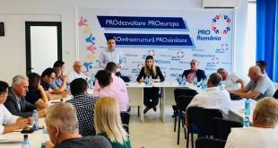PRO România, întâlnire regională în Argeș