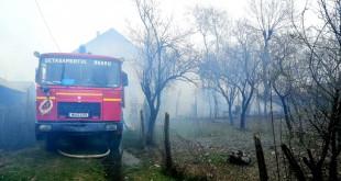 Incendiu casă comuna Popești (4)