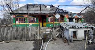 Incendiu la o casă din comuna Vedea (2)