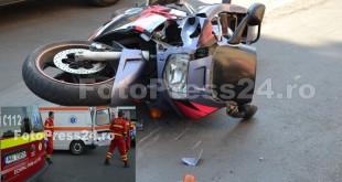 Accident grav motocicleta