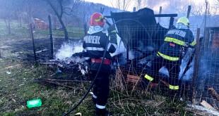 Incendiu la o magazie în comuna Bălilești