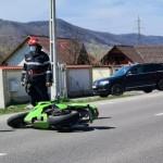 Motociclist preluat inconștient în urmă unui Accident rutier la Mihăești (3)