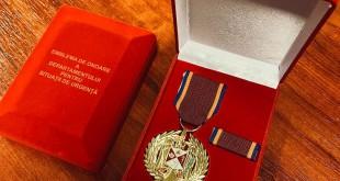 Spitalul Orășenesc Mioveni a fost medaliat de DSU