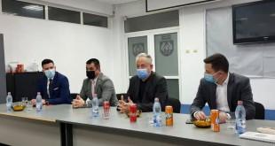 Vicepreședintele C.J. Argeș, Adrian Dumitru Bughiu si secretarul de stat în Ministerul Tineretului și Sportului, Csongor Oltean (1)
