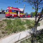 Autoturism răsturnat în șanț în localitatea Valea Mare Pravăț (7)