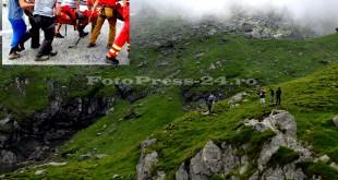 Turist rănit la picior pe traseul Valea Jepilor