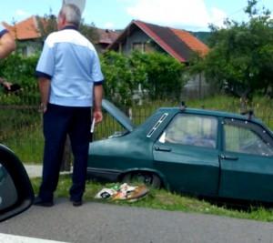 Accident mortal la Mihăești