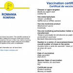 Certificatul digital al Uniunii Europene privind COVID (2)
