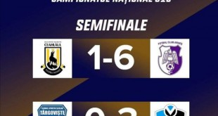 FC Argeș s-a calificat în finala Naționalului U19 !