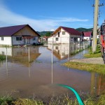 Gospodării inundate la Schitul Golești și Câmpulung (2)
