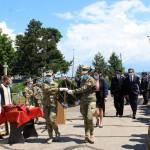 Prefectul Emilia Mateescu, prezentă la comemorarea Zilei Eroilor (1)