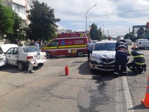 Tamponare cu două victime la Mioveni