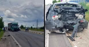 Trei oameni răniţi la ieşirea de pe autostradă (5)