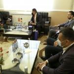 Vizita ambasadorului Danemarcei la Primăria Municipiului Pitești (1)