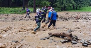 Acțiunea de salvare în cooperare cu jandarmii (2)