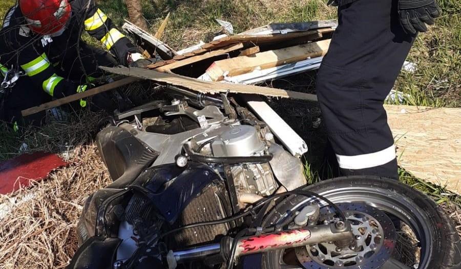 Accident-motocicletă