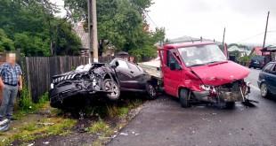Accident rutier cu două victime în Valea Mare Pravat