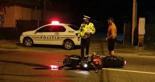 Motociclist mort la Câmpulung