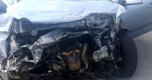 Răniţi în accident pe autostradă (2)