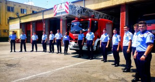 Viitori ofiţeri pompieri fac practică la ISU Argeş (2)