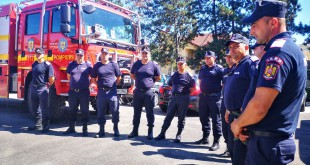 Pompierii reveniţi din Grecia (2)
