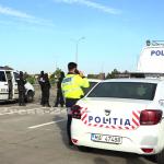 Acțiune specială în această dimineața, la km 110 pe Autostrada București - Pitești (2)