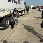 Acțiune specială în această dimineața, la km 110 pe Autostrada București - Pitești (27)