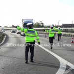 Acțiune specială în această dimineața, la km 110 pe Autostrada București - Pitești (5)