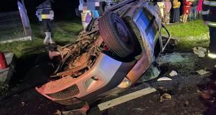Accident grav în comuna Mihăești.Un mort şi şase răniţi (1)