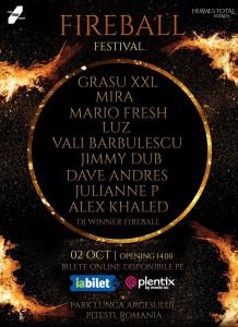 Fireball Festival – Pitești, 2021, prima ediție!