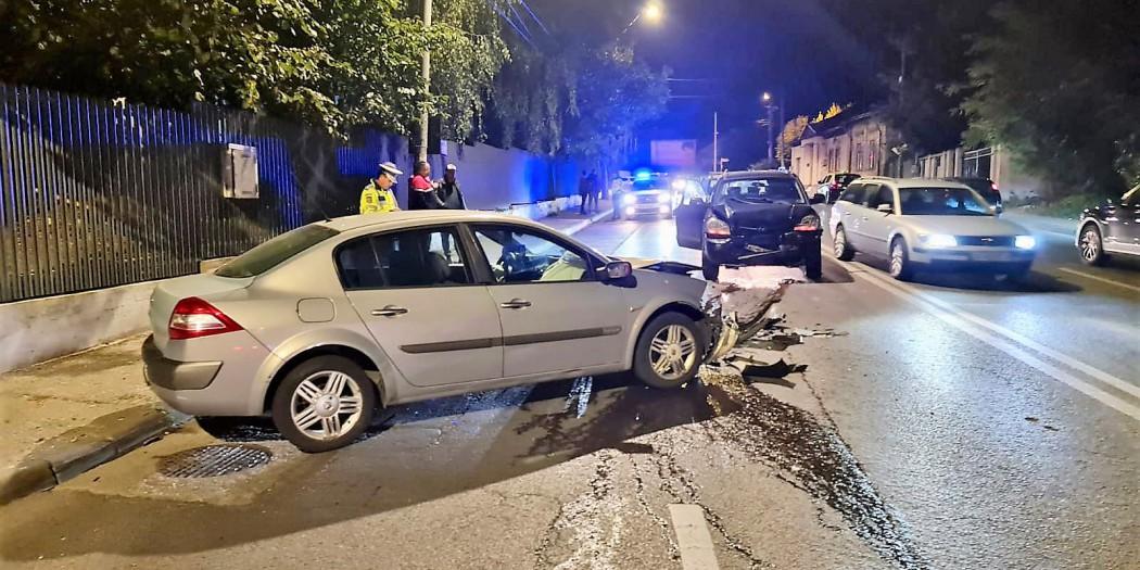 accident produs de un sofer beat (1)